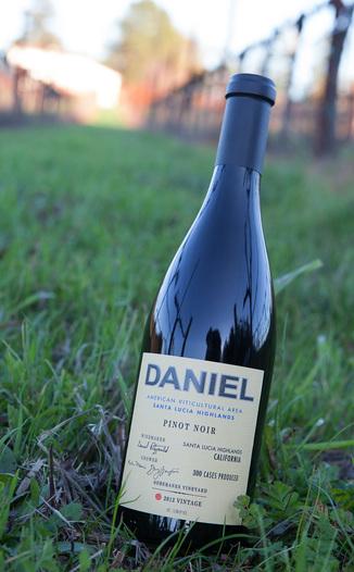 Daniel 2012 Pinot Noir Soberanes Santa Lucia Highlands 750ml Wine Bottle
