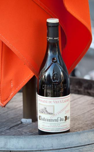 Domaine du Vieux Lazaret 2009 Châteauneuf-du-Pape Cuvee Exceptionnelle 750ml Wine Bottle