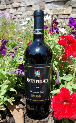 "Bonneau Wines 2004 ""Shenandoah Valley"" Zinfandel 750ml Wine Bottle"
