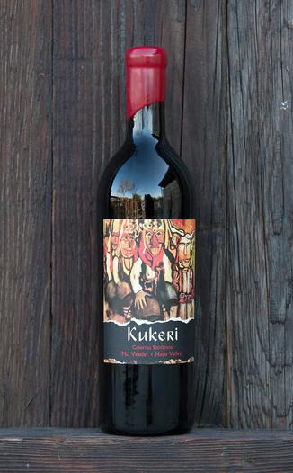 Kukeri Wines 2011 Mt.Veeder Cabernet Sauvignon 750ml Wine Bottle