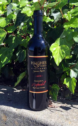 Hughes Family Vineyards 2010 Zinfandel Signature Reserve 750ml Wine Bottle