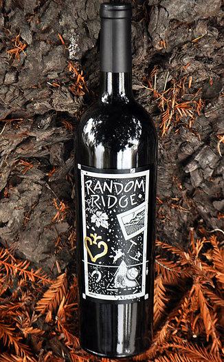 Random Ridge 2011 Mt.Veeder Cabernet Franc 750ml Wine Bottle