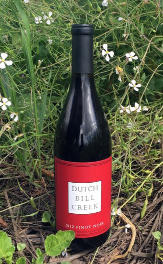 Dutch Bill Creek 2012 Pinot Noir Russian River Valley 750ml Wine Bottle