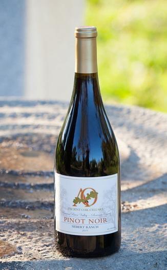 Ancient Oak Cellars 2011 Pinot Noir Siebert Ranch Russian River Valley 750ml Wine Bottle