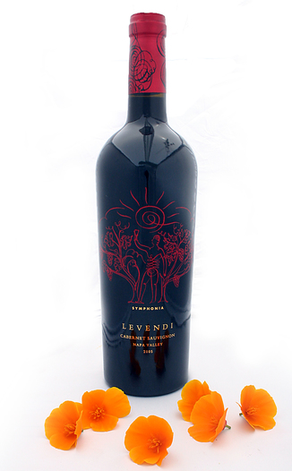 Levendi Winery 2005 Symphonia Cabernet Sauvignon 750ml Wine Bottle