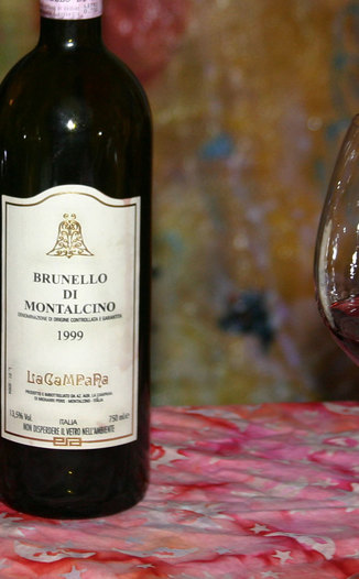 La Campana 1999 Brunello di Montalcino 750ml Wine Bottle