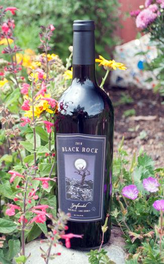 Cougar's Leap Winery 2010 Black Rock Red Hills Zinfandel 750ml Wine Bottle