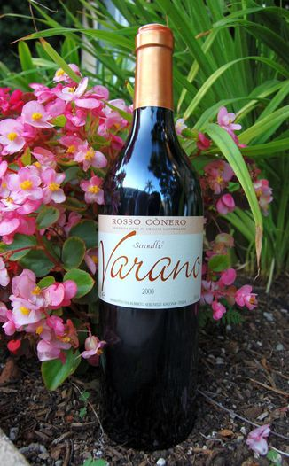 Alberto Serenelli 2000 Varano Rosso Conero DOC 750ml Wine Bottle