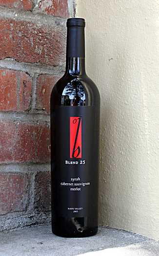 B Cellars 2003 Blend 25 750ml Wine Bottle