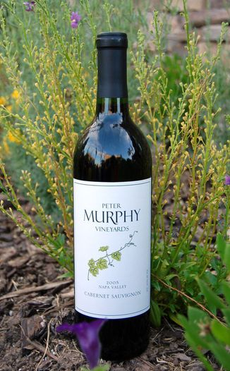 Murphy Vineyards 2005 Cabernet Sauvignon 750ml Wine Bottle