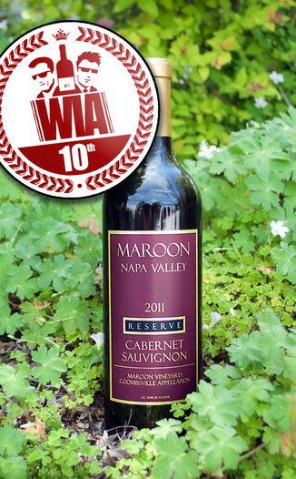 Maroon Wines 2011 Reserve Coombsville Cabernet Sauvignon 750ml Wine Bottle