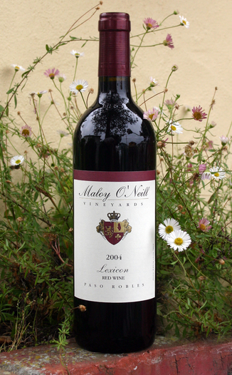 Maloy O'Neill Vineyards 2004 Lexicon 750ml Wine Bottle