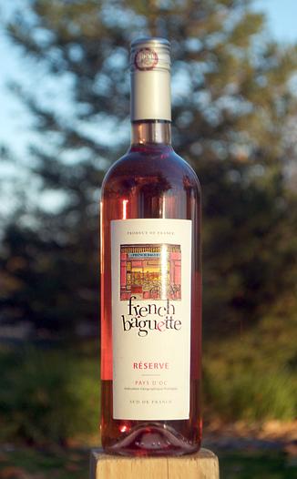 Millesime Sud Plaissan 2014 French Baguette Reserve Rose' 750ml Wine Bottle