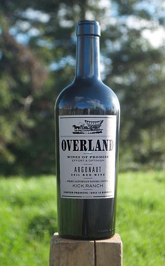 Overland 2011 Argonaut Red Wine 750ml Wine Bottle