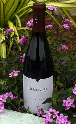 Merryvale Vineyards 2006 Pinot Noir, Carneros 750ml Wine Bottle