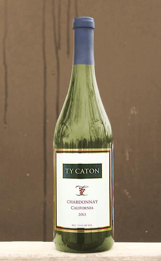 Ty Caton Vineyards 2013 Chardonnay 750ml Wine Bottle