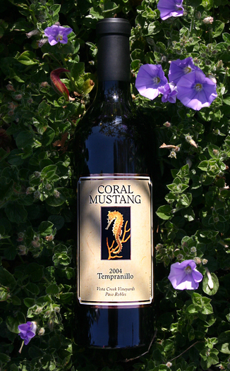 Coral Mustang Wines 2004 Tempranillo 750ml Wine Bottle