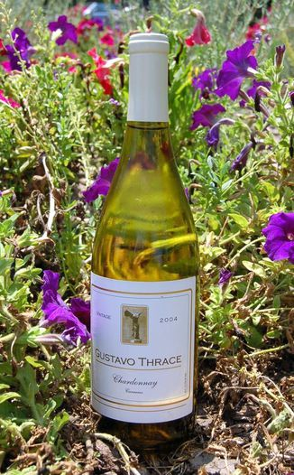 Gustavo Thrace 2004 Napa Valley Chardonnay Carneros 750ml Wine Bottle