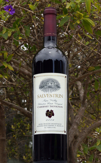 Salvestrin Vineyard and Winery 2004 Cabernet Sauvignon 750ml Wine Bottle