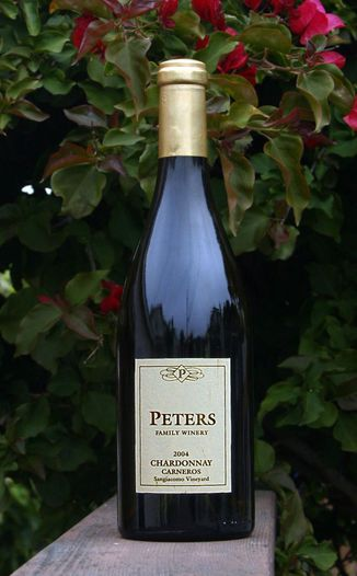 Peters Family Winery 2004 Chardonnay, Carneros 750ml Wine Bottle