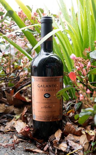 Galante Vineyards 2012 Ace High Carmel Valley Estate Bottled Malbec 750ml Wine Bottle