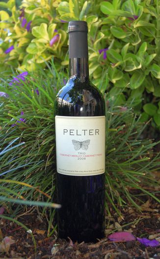 Pelter Winery 2006 Trio - Cabernet Merlot Cabernet Franc 750ml Wine Bottle