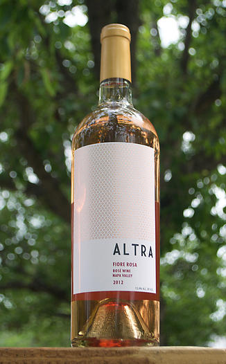 Altra Wines 2012 Fiore Rosa Napa Valley Rosé 750ml Wine Bottle