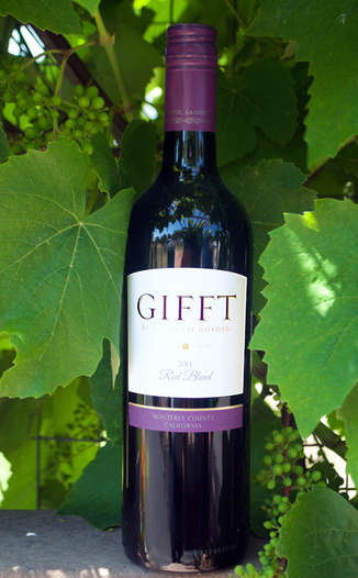 Gifft 2014 Red Blend 750ml Wine Bottle