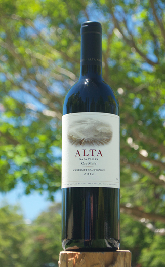 Alta 2012 Oso Malo Napa Valley Cabernet Sauvignon 750ml Wine Bottle