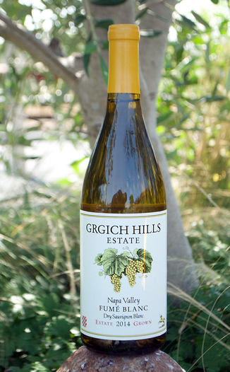 Grgich Hills Estate 2014 Napa Valley Estate Grown Fume' Blanc 750ml Wine Bottle