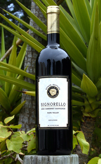 Signorello Estate 2004 Estate Cabernet Sauvignon 750ml Wine Bottle