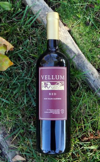 Vellum Wine Craft 2013 'Red' Proprietary Red Wine 750ml Wine Bottle