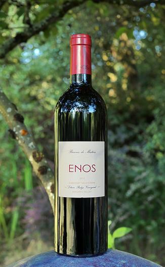 Enos Vineyards 2013 Totem Ridge Vineyard Knights Valley Cabernet Sauvignon 750ml Wine Bottle