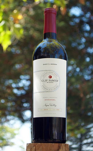 Clif Family Winery 2013 'Gary's Improv' Howell Mountain Zinfandel 750ml Wine Bottle