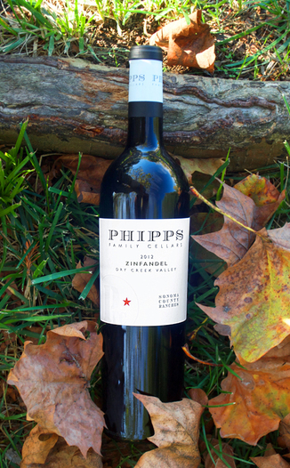 Phipps Family Cellars 2012 Sonoma County Ranches Zinfandel 750ml Wine Bottle