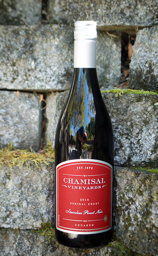 Chamisal Vineyards 2014 Central Coast Stainless Pinot Noir 750ml Wine Bottle