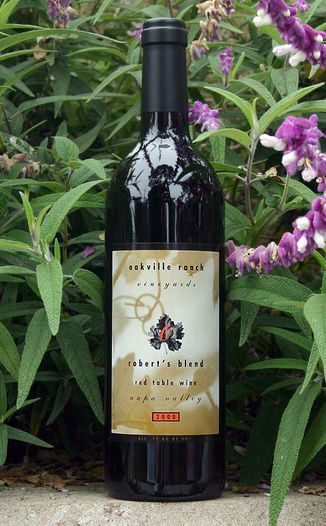 Oakville Ranch Vineyards 2000 Robert's Blend 750ml Wine Bottle