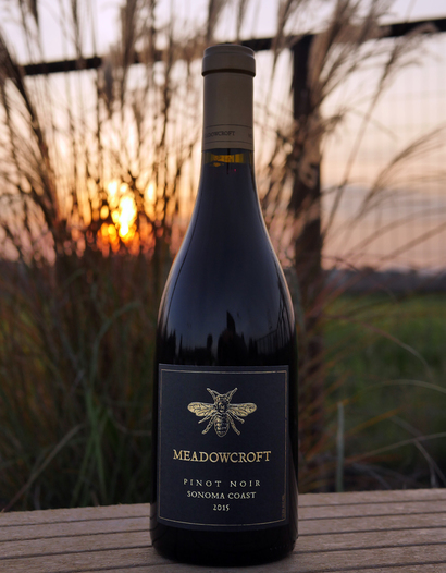Meadowcroft Wines 2015 Sonoma Coast Pinot Noir 750ml Wine Bottle