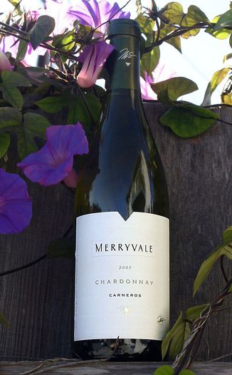 Merryvale Vineyards 2005 Chardonnay, Carneros 750ml Wine Bottle