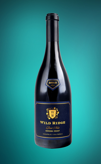 Wild Ridge Vineyards 2013 Sonoma Coast Pinot Noir 750ml Wine Bottle