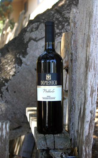 Domenico Wines 2005 Nebbiolo, Amador County 750ml Wine Bottle