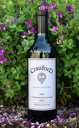 Crauford Wine Company 2003 Cabernet Sauvignon 750ml Wine Bottle