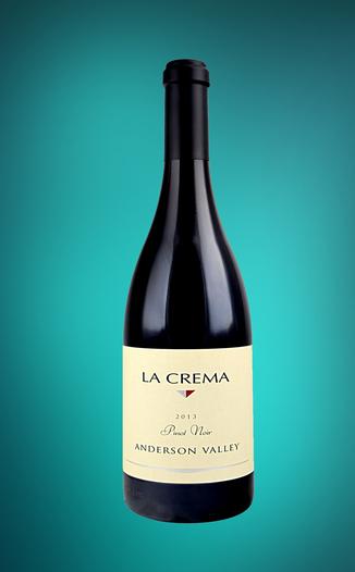 La Crema Winery 2013 Anderson Valley Pinot Noir 750ml Wine Bottle