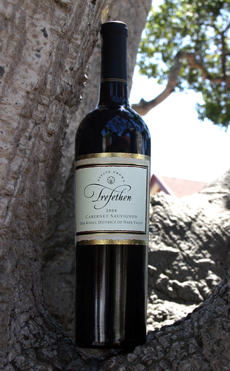 Trefethen Family Vineyards 2004 Estate Cabernet Sauvignon 750ml Wine Bottle
