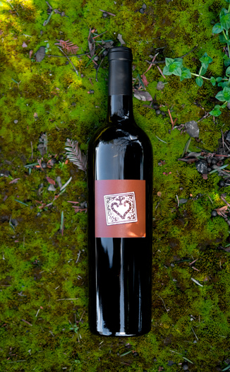 "Random Ridge 2014 ""Windfall"" Cabernet Franc 750ml Wine Bottle"