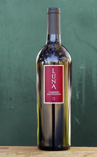Luna Vineyards 2012 Cabernet Sauvignon 750ml Wine Bottle