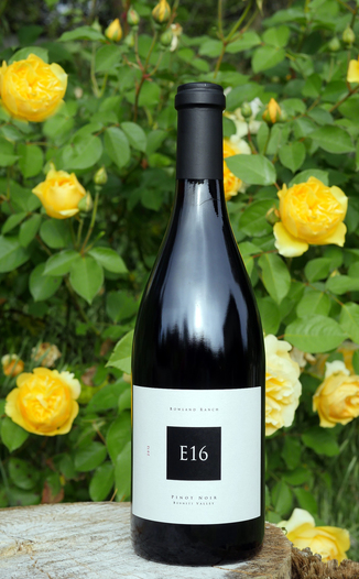 E16 Wine Co. 2012 Bowland Ranch Vineyard Bennett Valley Pinot Noir 750ml Wine Bottle