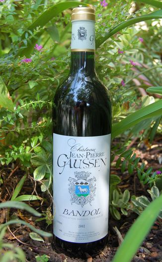 Chateau Jean-Pierre Gaussen 2002 Bandol Rouge 750ml Wine Bottle