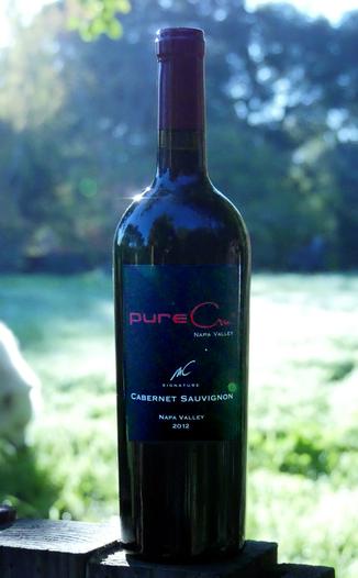 pureCru Wines 2012 MC Signature Napa Valley Cabernet Sauvignon 750ml Wine Bottle