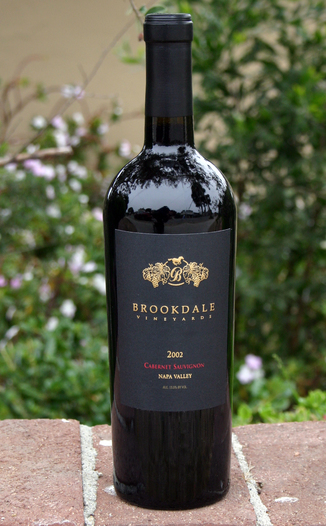 Brookdale Vineyards 2002 Cabernet Sauvignon 750ml Wine Bottle
